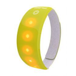 Brassards réfléchissants WOWOW pour bras/cheville avec LED rouges