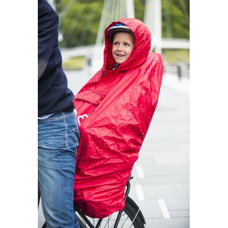Poncho imperméable HAMAX pour sièges enfants vélos