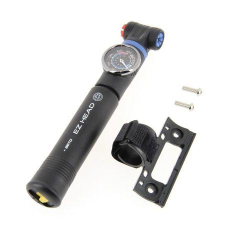BETO Mini-pompe composite 2 modes de gonflage avec manométre EZ-HEAD