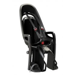 Porte-bébé HAMAX Zenith gris-noir fixation porte-bagages