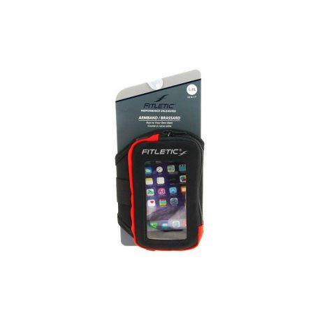 Brassard fitness FITLETIC ARM05 avec fenêtre téléphone et gels - Grand modèle