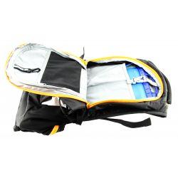 Sac à dos d'hydratation FITLETIC Journey orange vélo trail 11 litres poche à eau amovible 2 litres