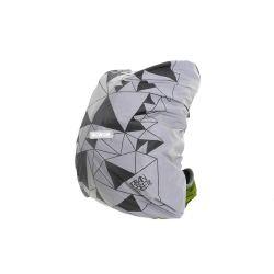 Housse de sac à dos WOWOW Bag Cover Urban Silver imperméable réfléchissante