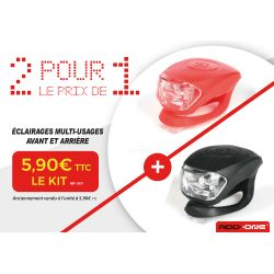 ADD ONE Kit éclairage LED Rouge / blanc