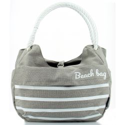 Panier shopping avant HAPO G Collection Beach 15l gris fixation Mts 3 sur cintre max 5kg