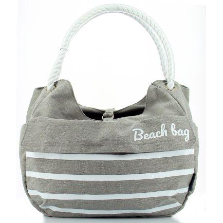 Panier shopping avant HAPO G Collection Beach 15l gris fixation Mts 3 sur cintre max 5kg