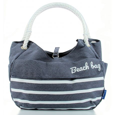 Panier shopping avant HAPO G Collection Beach 15l bleu fixation Mts 3 sur cintre max 5kg