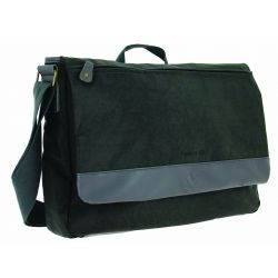 Sac HAPO G Messenger Premium 9.5l fixation par crochets sur porte-bagages grise