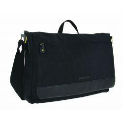 Sac HAPO G Messenger Premium 9.5l fixation par crochets sur porte-bagages noir