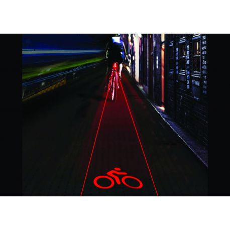 Eclairage arrière avec laser ADD ONE