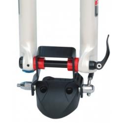 Adaptateur PERUZZO Downhill pour vélos Descente Enduro Freeride en axes de 12/15/15boost et 20mm pour porte vélo de toit