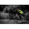 Veste sans manches WOWOW Maverick Jaune fluo bandes réfléchissantes dos prolongé idéal vélo Taille S à XXL