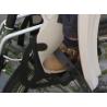 Paire de protections de pieds HAMAX supplémentaires pour siège enfant vélo HAMAX Smiley et Siesta