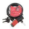 Antivol spirale ADD ONE à clefs longueur 100cm diamètre 6mm câble en acier indice de protection 2/10