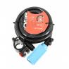 Antivol spirale ADD ONE longeur 180cm diamètre 12mm câble en acier livré avec deux clefs indice de protection 4/10