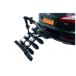 Porte vélo inclinable PERUZZO Pure Instinct 4 vélos fixation sur boule d'attelage