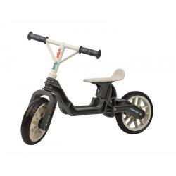 Draisienne POLISPORT BALANCE BIKE grise et crème vélo d'apprentissage pour enfant de 2 à 5 ans 25kg maximum