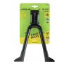 Béquille double URSUS Big Foot 87 à fixation centrale alu pour vélo de 26 à 28 pouces longueur 300mm charge max.50kg
