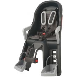 Porte bébé avant Guppy Mini gris foncé-argent