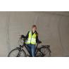 Gilet sans manches femme WOWOW Lucy Jacket Jaune fluo bandes réfléchissantes Idéal vélo urbain