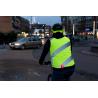 Gilet sans manches WOWOW Roadie Jacket Jaune fluo bandes réfléchissantes Idéal vélo urbain