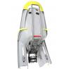 Porte-bébé vélo HAMAX Amaze à fixation sur cadre très confortable et inclinable gris lime