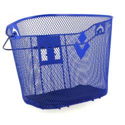 Panier Acier HAPO G XXL Bleu fixation MTS 3 incluse contenance 19 litres