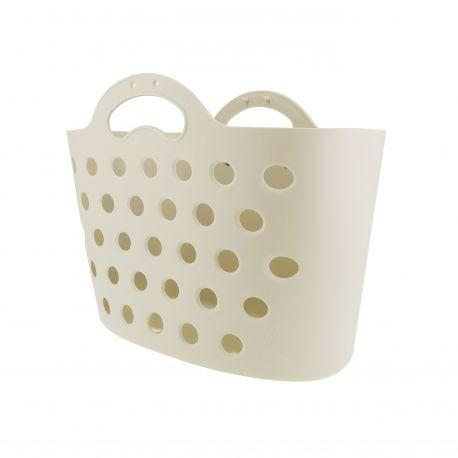 HAPO G Panier Trendy One fixation porte-bagages sable blanc