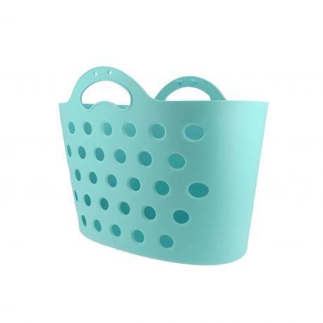 HAPO G Panier Trendy One fixation porte-bagages bleu clair