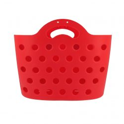 HAPO G Panier Trendy One fixation porte-bagages rouge