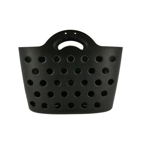 HAPO G Panier Trendy One fixation porte-bagages noir