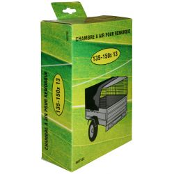 Chambre à air 135-145-150X13 pour pneus de remorque 135-150X13