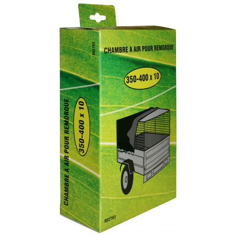 Chambre à air 350X10 pour pneu de remorque 350-400X10