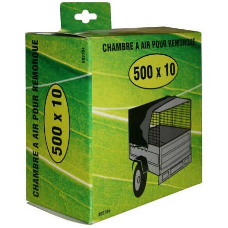 Chambre à air 450X10 pour pneu de remorque 500X10