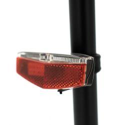 Eclairage arrière porte-bagage USB