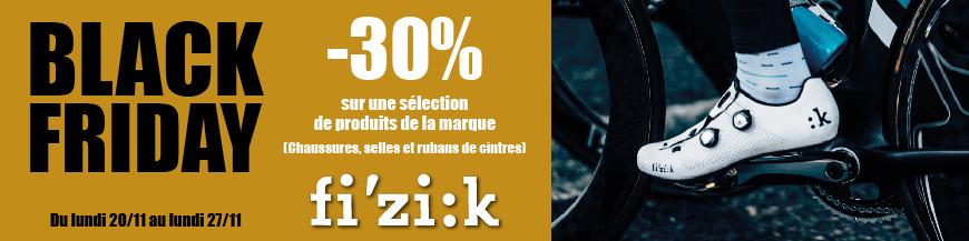 -30% sur une sélection de produits de la marque FIZIK