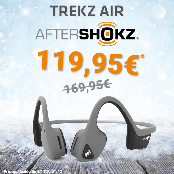 Offre Noël Aftershokz Trekz Air